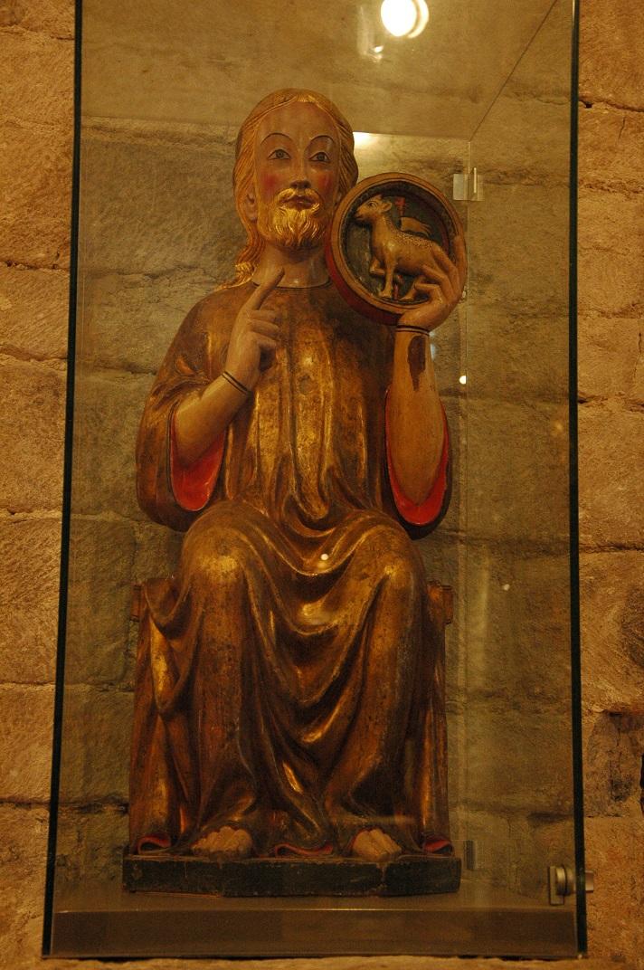 Talla de Sant Joan Baptista de l'església de Santa Maria d'Arties