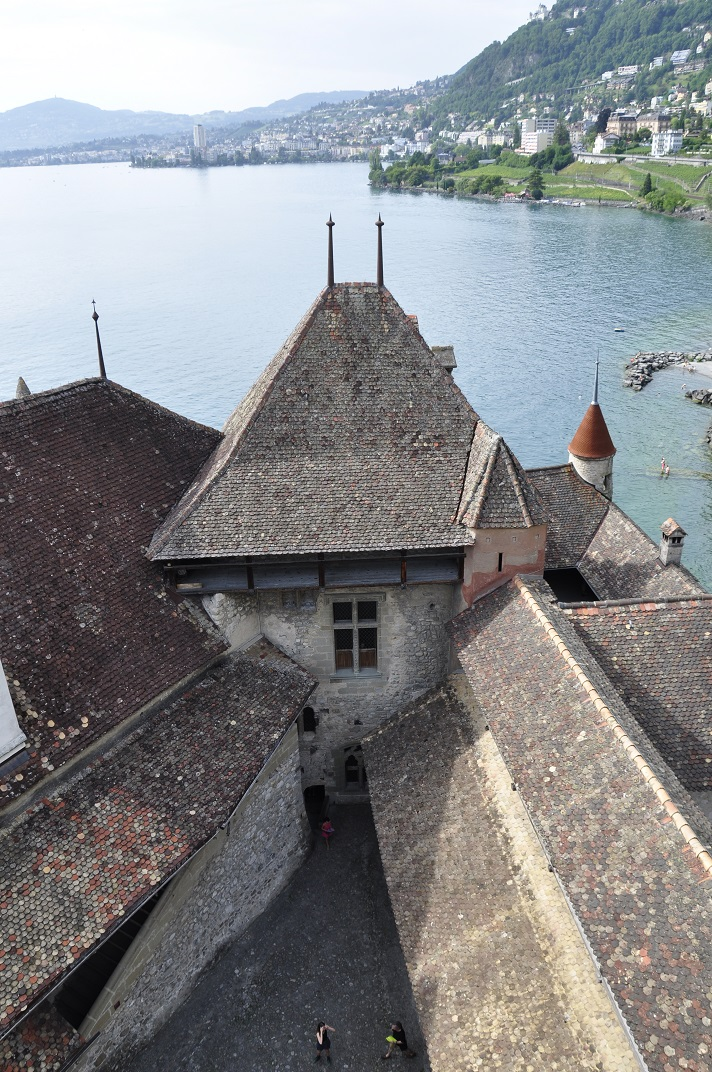 Tercer pati del castell de Chillon