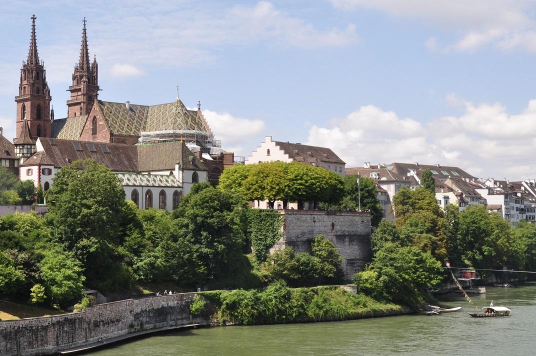 Terrassa de la Basler Pfalz de la Catedral de Basilea