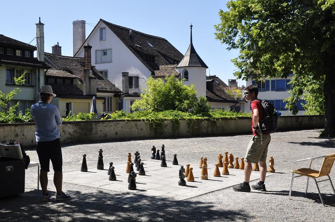 Terrassa del Linderhof de Zuric