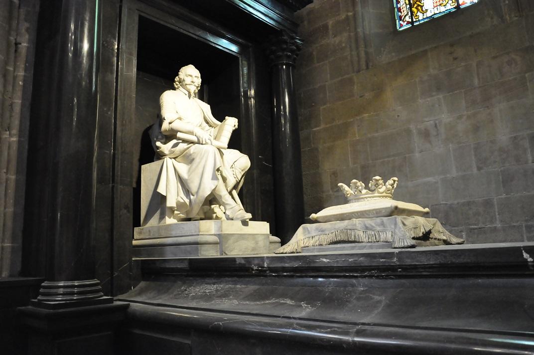 Tomba d'Henri de Rohan de la Catedral de Ginebra