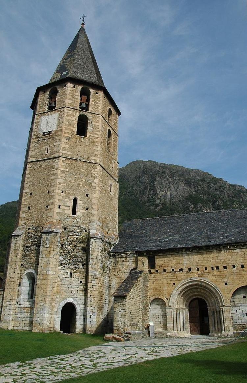 Torre campanar de l'església de Salardú