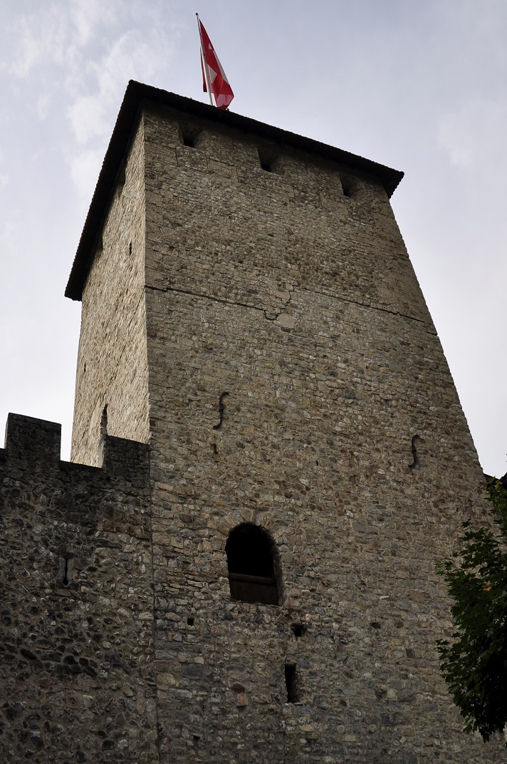 Torre de l'homenatge del castell de Chillon