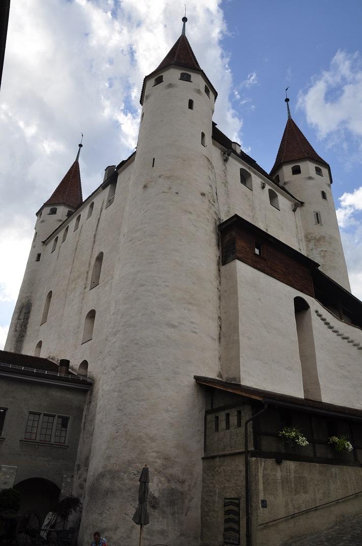 Torre de l'homenatge del castell de Thun