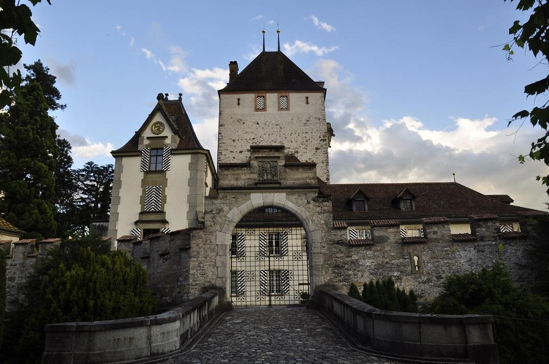 Torre de l'homenatge del castell d'Oberhofen de Thun