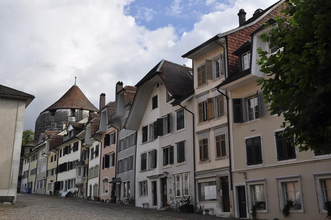Torre de Riedholz de Solothurn