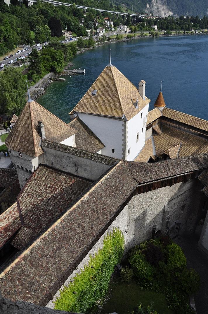 Torre de vigilància del castell de Chillon
