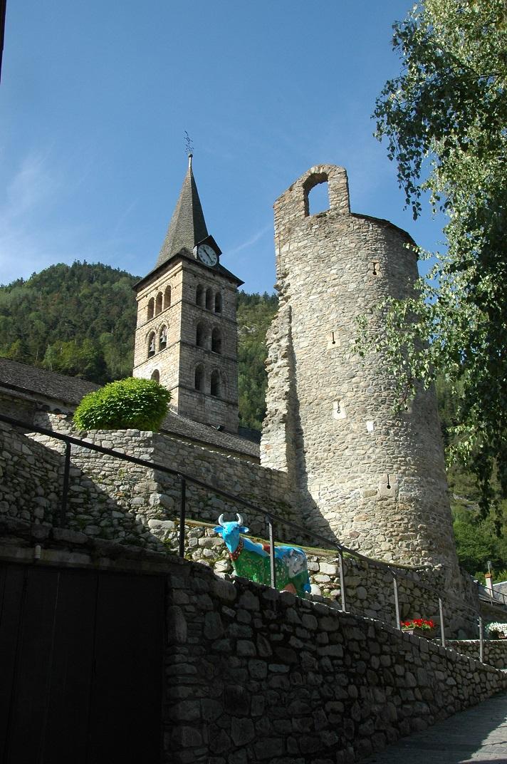 Torre del castell d'Arties
