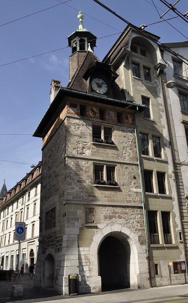 Torre Molard de Ginebra