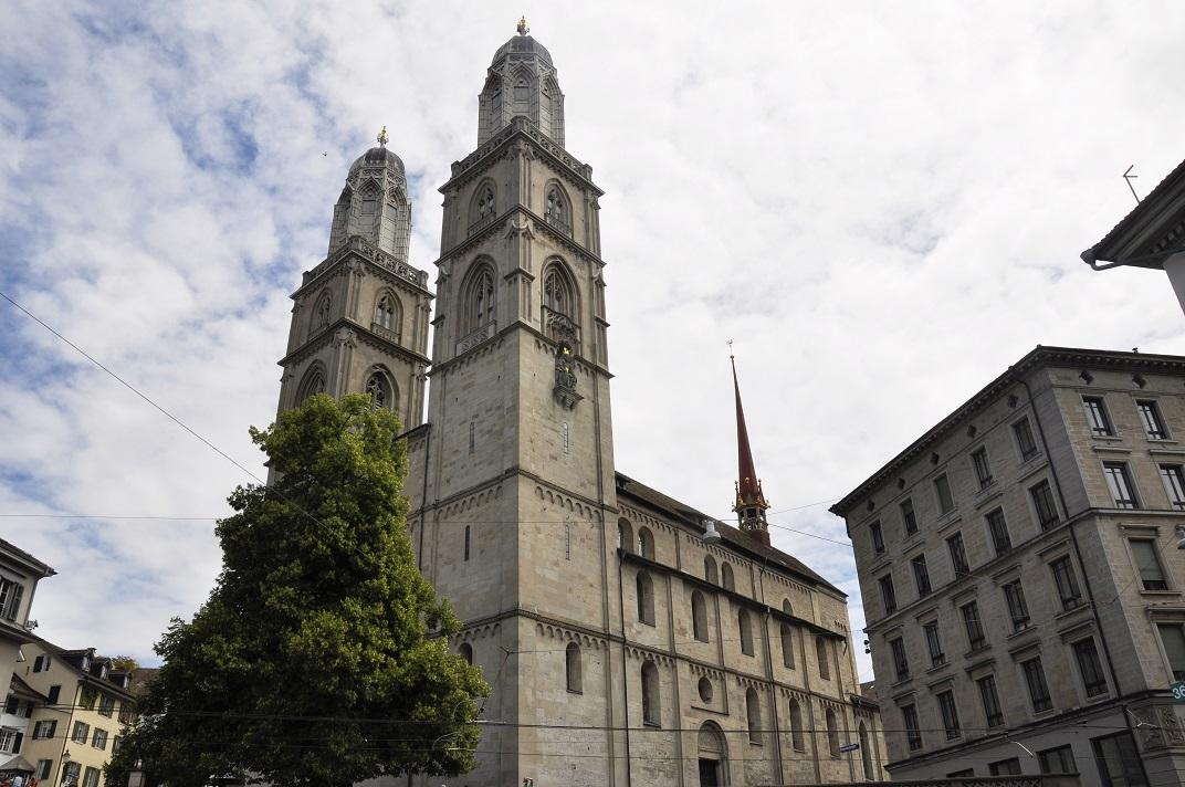 Torres bessones de la Grossmünster de Zuric