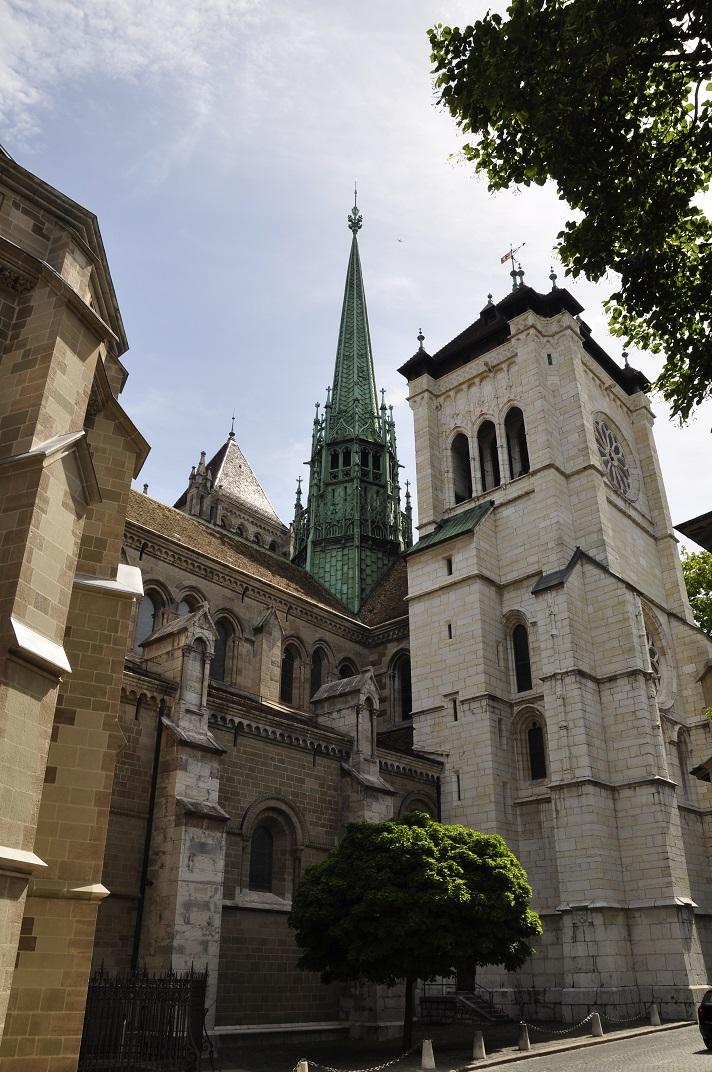 Torres de la Catedral de Ginebra