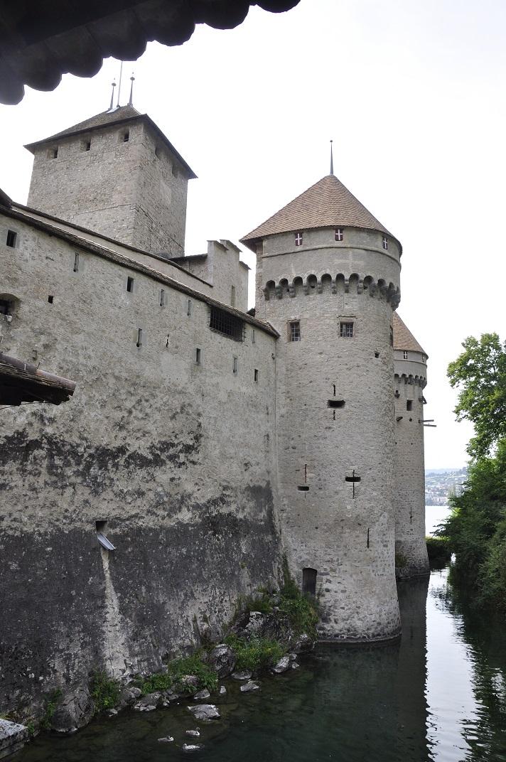 Torres del castell de Chillon