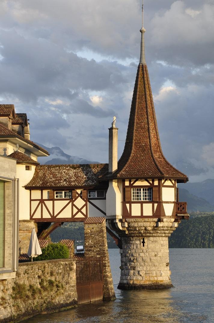Torreta del castell d'Oberhofen de Thun
