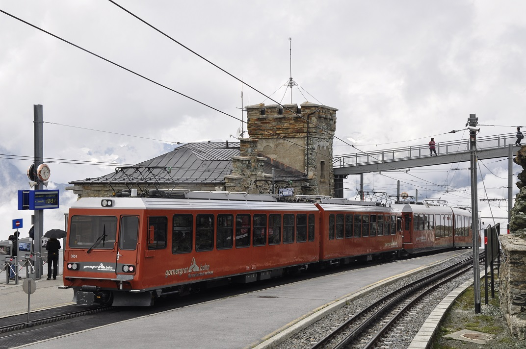 Tren cremallera del Gornergrat bahn