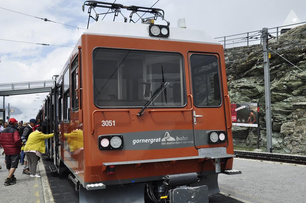 Tren cremallera del Gornergrat