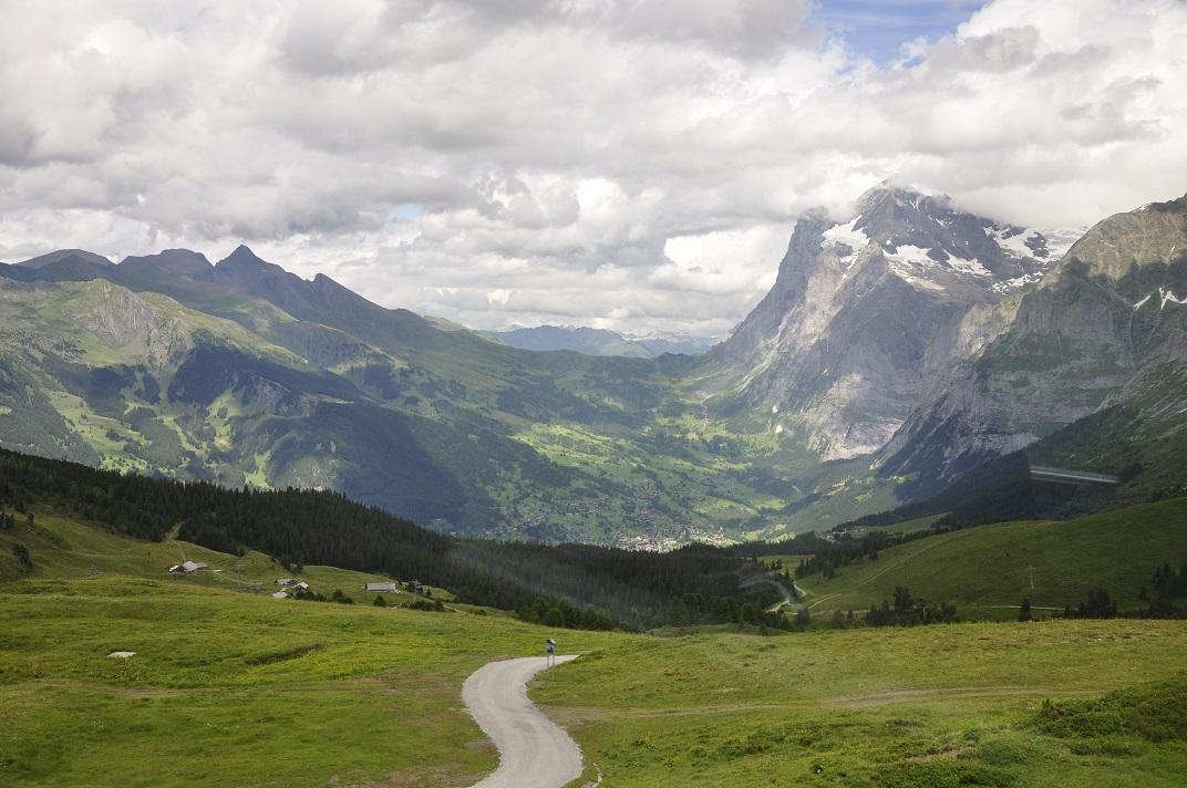 Tren cremallera des de Jungfraujoch a Grindelwald
