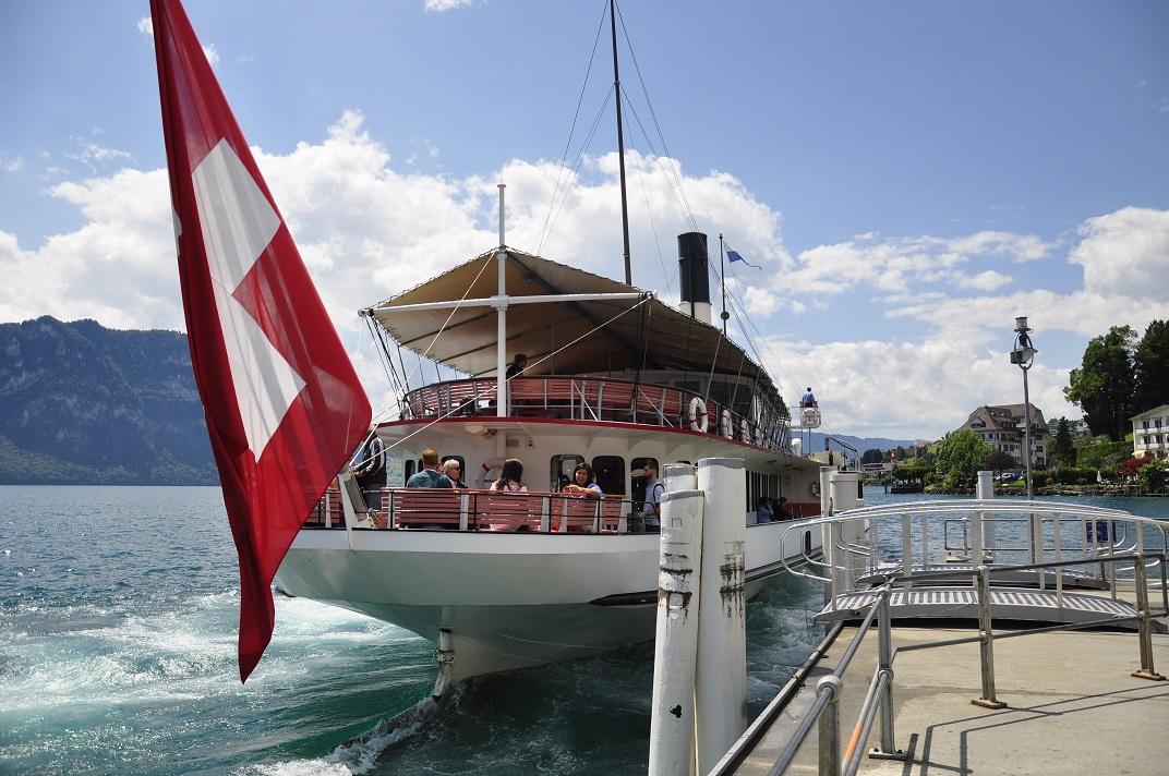 Vaixell de Weggis a Vitznau - Rigi
