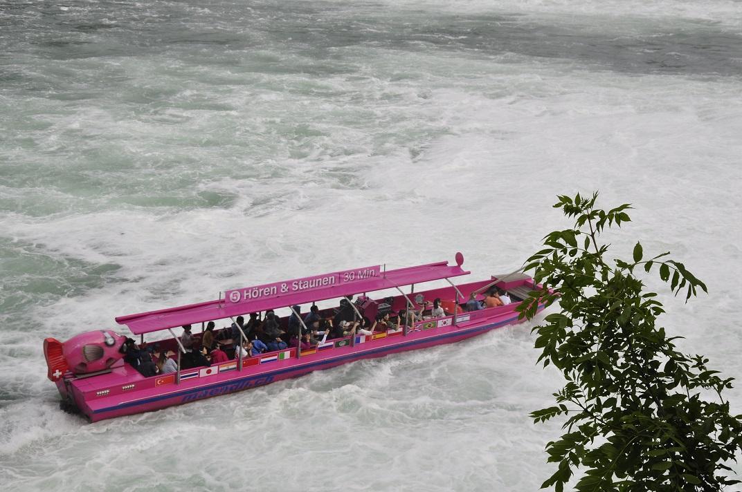 Vaixells turístics de Rheinfall