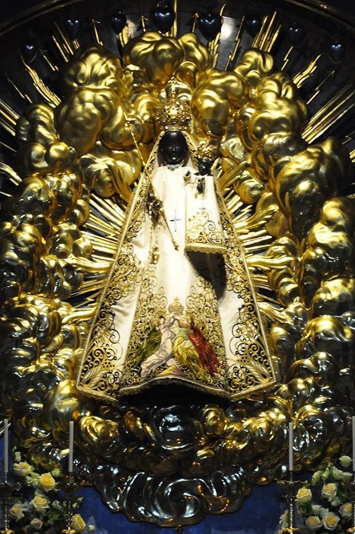 Verge Negra de capella de la Gràcia de la Col·legiata d'Einsiedeln