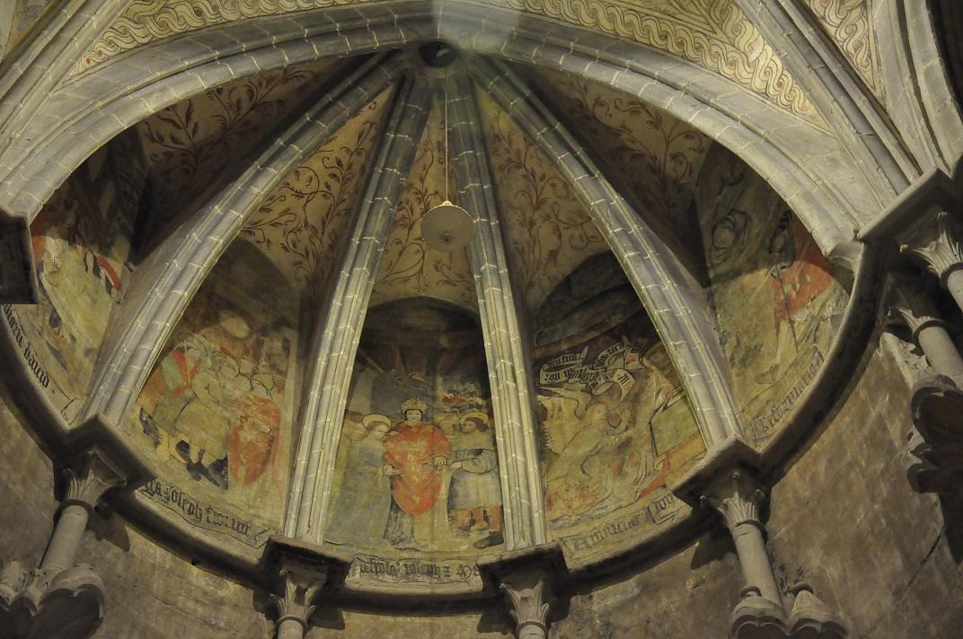 Vestíbul de la Catedral de Lausana
