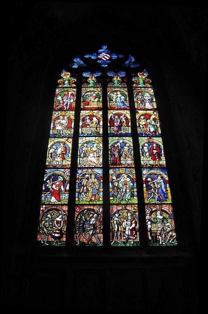 Vidriera de la Catedral de Berna