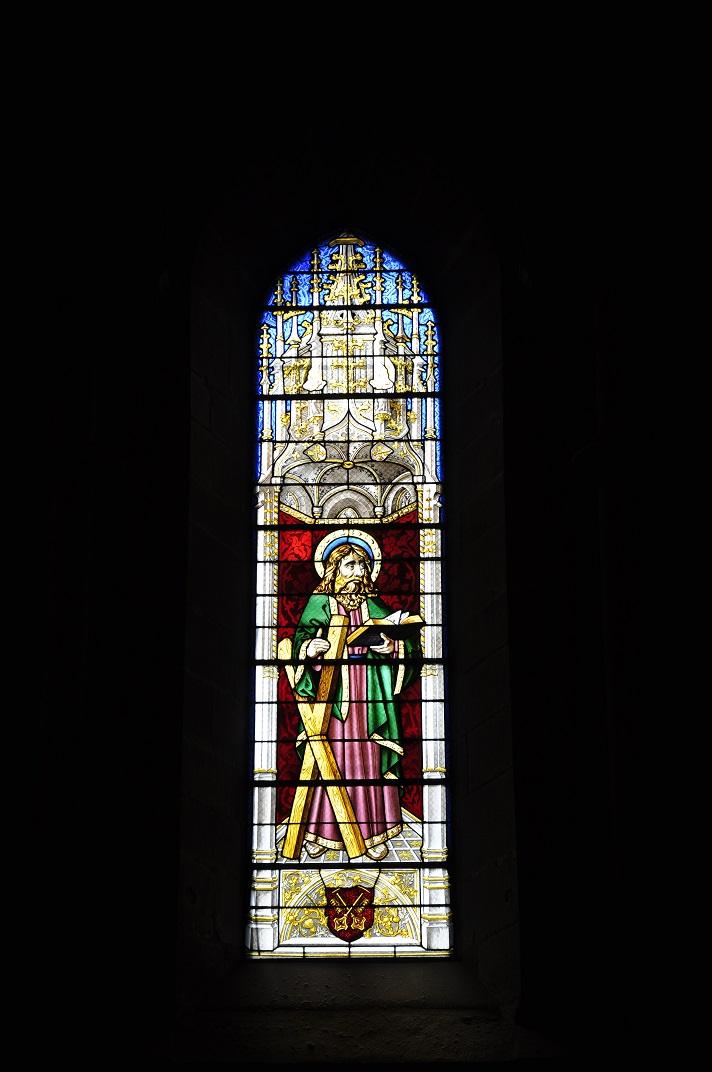Vidriera de la Catedral de Ginebra