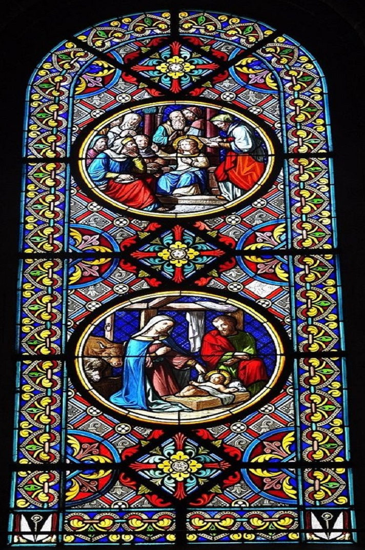 Vitralls de la girola de la Catedral de Basilea