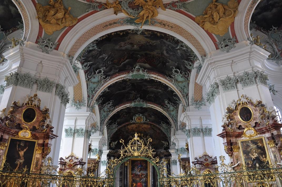 Voltes de la Catedral de Sankt Gallen